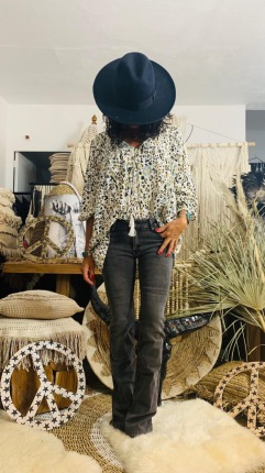 BLOUSE LEOPARD TRIBE